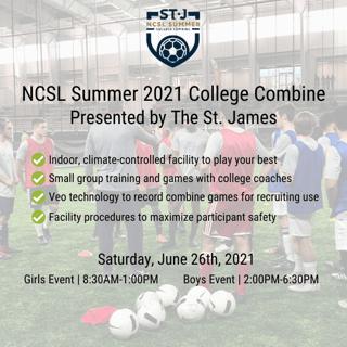 NCSL Summer 2021 College Combine_SpiritNewsletter